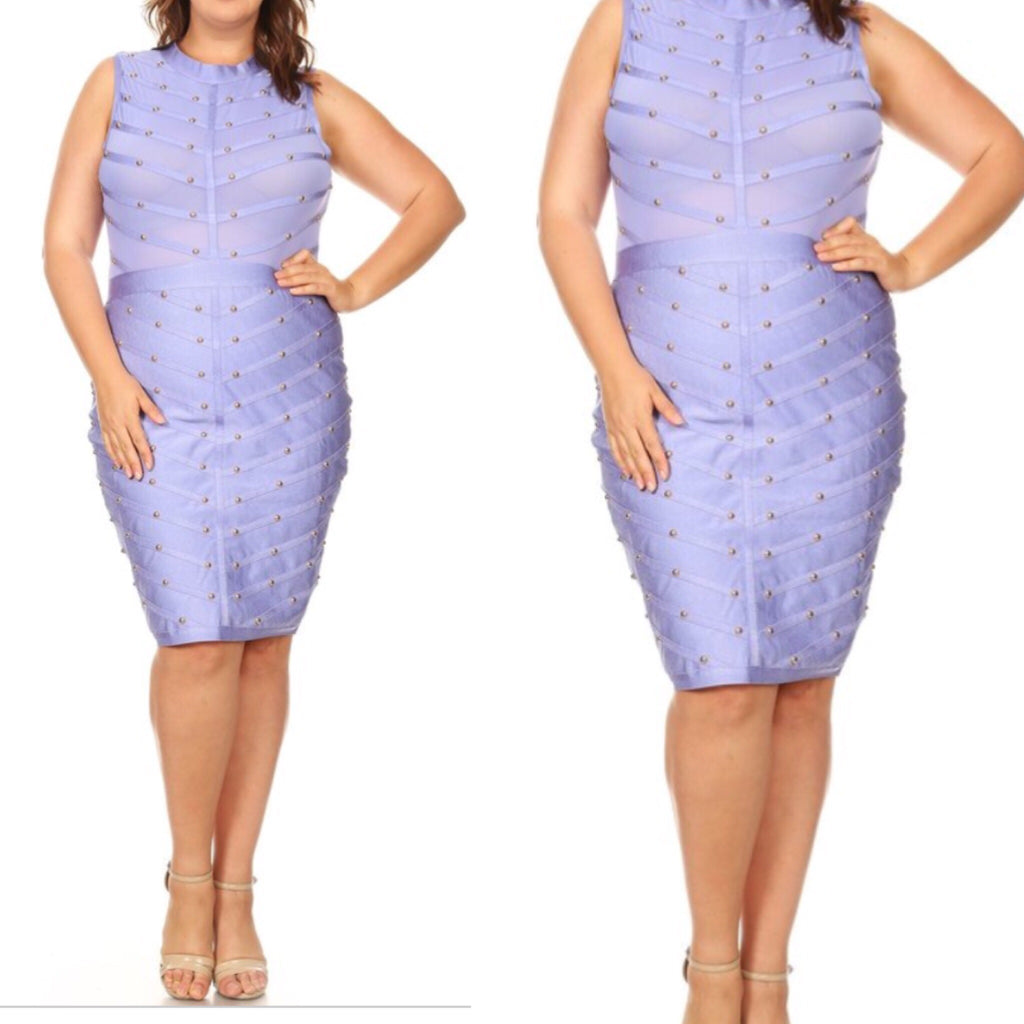 Jewel Plus Body Con Dress