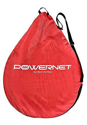 PowerNet 2.5 x 1.5 ft Round Portable Pop Up Soccer Goal (2 Goals + 1 Bag)