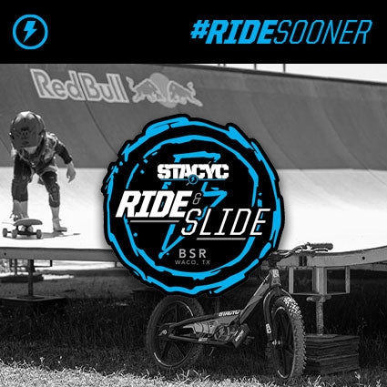 "STACYC ""Ride and Slide"" - BSR"