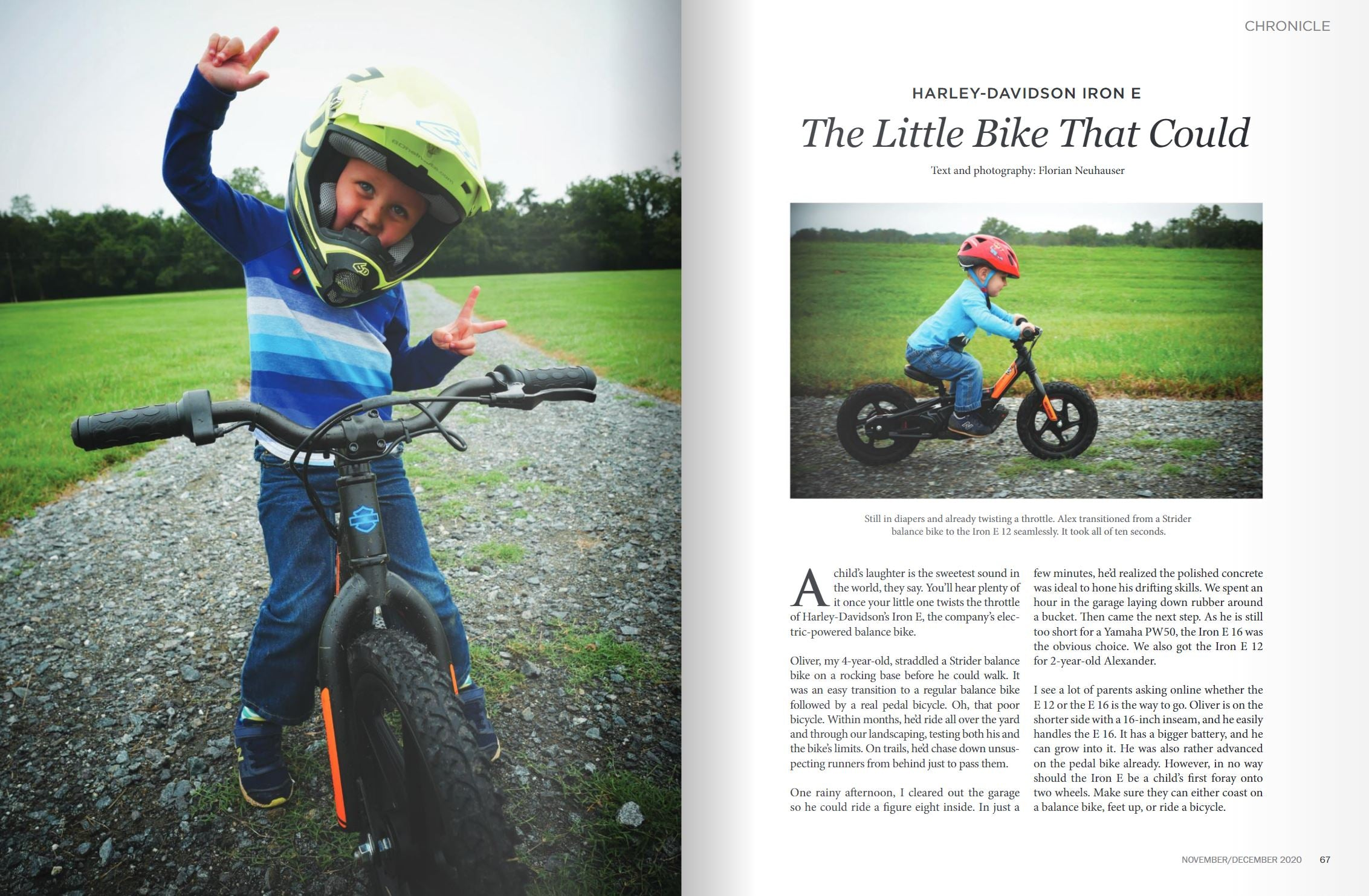RoadRunner Motorcycle - Harley-Davidson Iron E: The Little Bike That Could