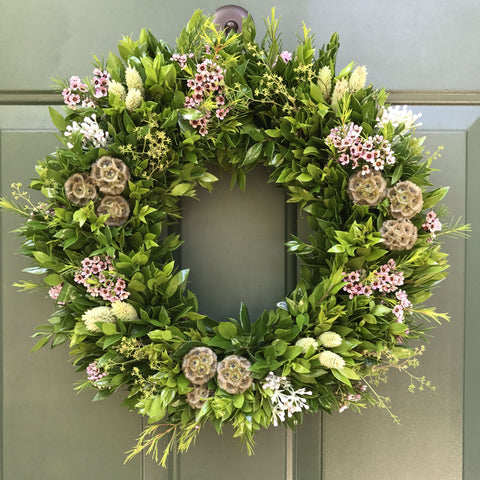 White Barn Estate Spring Wreath Workshop March 30th @ 2pm