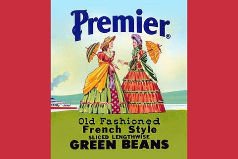 Premier Old Fashioned French Style Green Beans (Paper Poster)