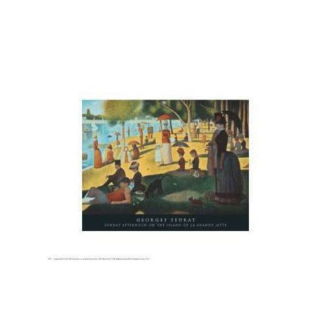 Sunday Afternoon on the Island of La Grande Jatte, A - Scroll Forever, 19th century Paintings, Scroll Forever