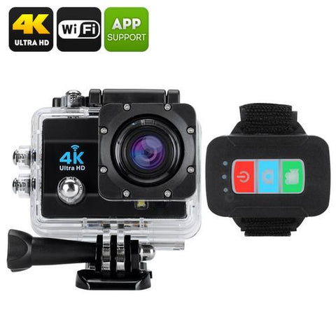 Q3H Waterproof 4K Sports Camera - Scroll Forever, 2k & 4k sports action cameras, Scroll Forever