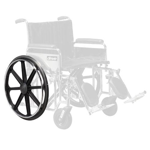Wheel only  Right Rear  for Drive Sentra Wheelchairs,Wheelchair - accessories/parts,Scroll Forever,Scroll Forever