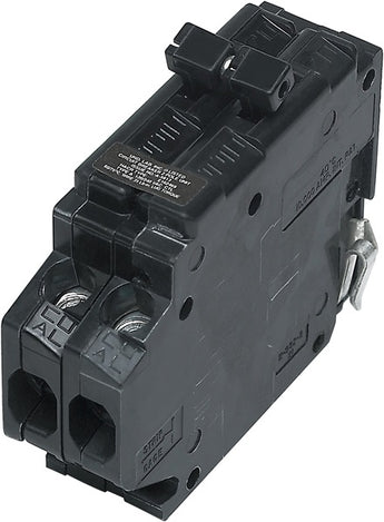UBITBA215-New Challenger, Sylvania, Crouse-Hinds, A215, MH215 Type A Replacement. Two Pole 15 Amp Clip Circuit Breaker Manufactured by Connecticut Electric.