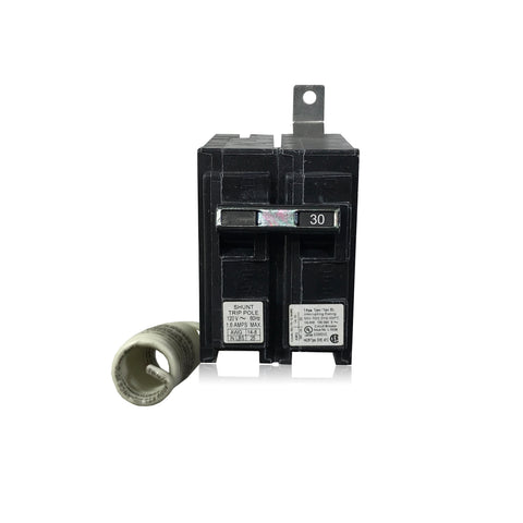 B13000S01 30 Amp 1 Pole Shunt Trip Siemens Bolt-In Circuit Breaker