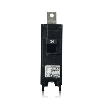 B130HID 1 Pole 30 Amp HID Rated Siemens Bolt-In Circuit Breaker