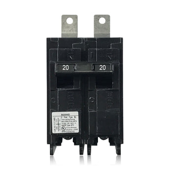 B220HID 2 Pole 20 Amp HID Rated Siemens Bolt-In Circuit Breaker