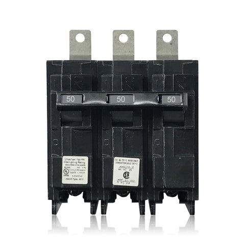 B350HH 3 Pole 50 Amp Type HBL Siemens Bolt-in Circuit Breaker