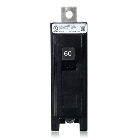 BAB1060 1 Pole 60 Amp Type BA Bolt-in Cutler-Hammer Circuit Breaker