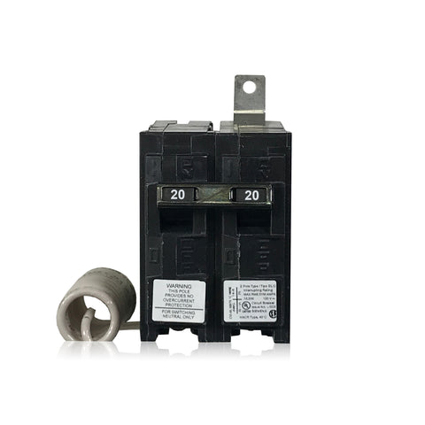 BG220 1 Pole 20 Amp Siemens Switching Neutral Bolt-In Circuit Breaker