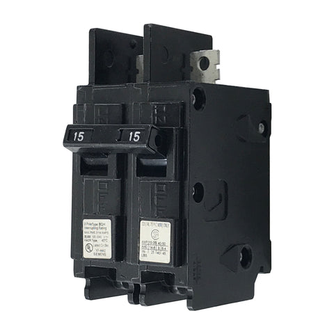 BQ2B015H 2 Pole 15 Amp 22k Rated Siemens Bolt-in Circuit Breaker