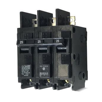 BQ3B025H 3 Pole 25 Amp 22k Rated Siemens Bolt-in Circuit Breaker