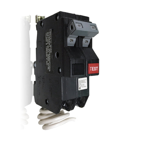 CHB215GF 2 Pole 15 Amp Cutler-Hammer GROUND FAULT CIRCUIT BREAKER