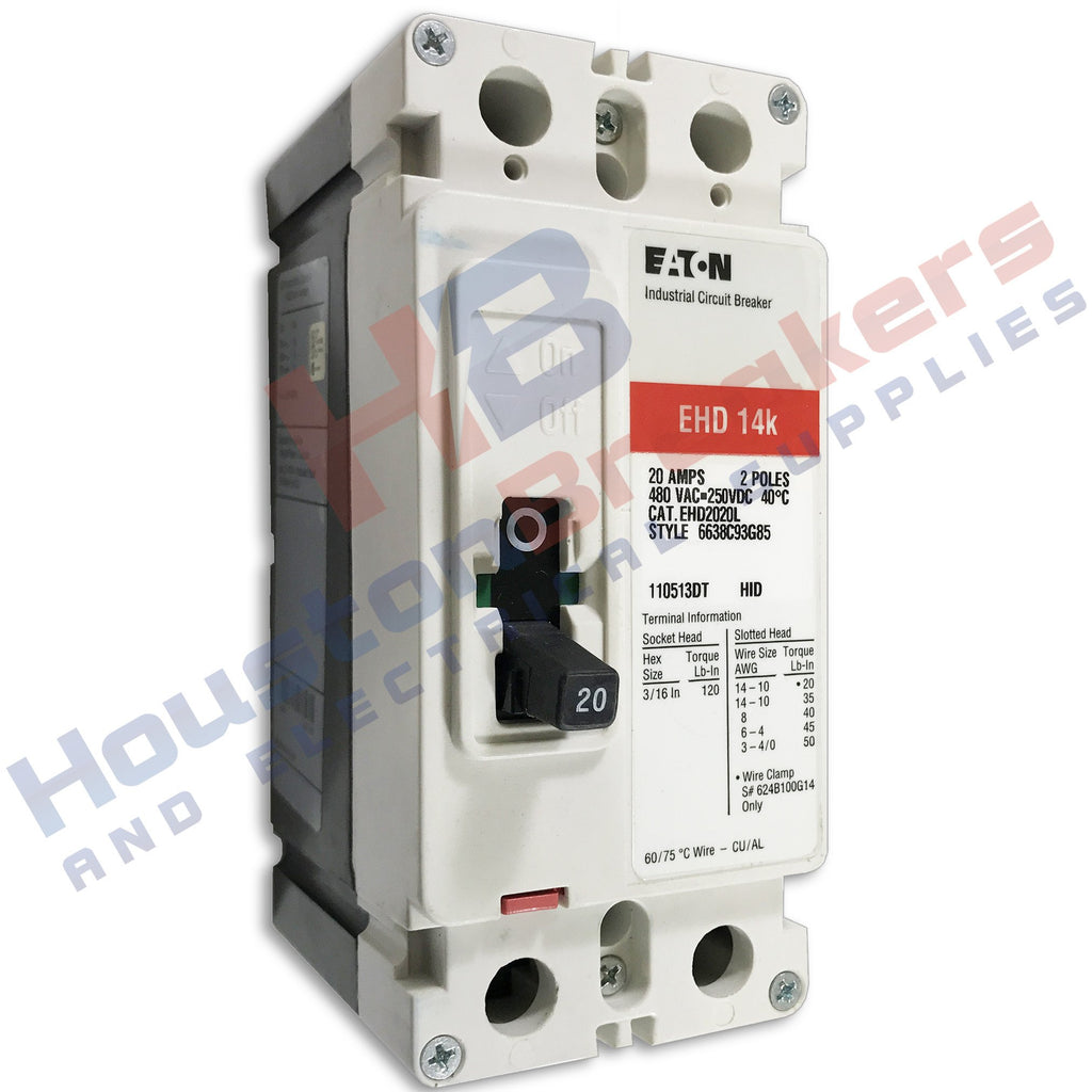 60 Amp Breaker Wire Size 50 Square D Gfci Wiring Diagram Cutler Hammer Ehd2030 2 Pole Circuit Houston Breakers And