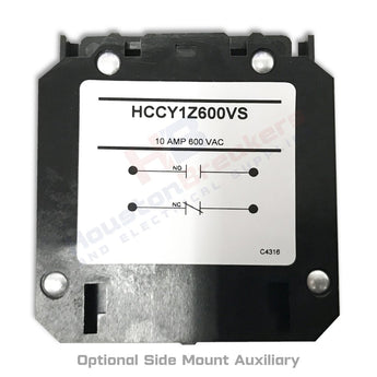 Hartland Controls HCCY1Z600VS 1NO/1NC Auxiliary Contact