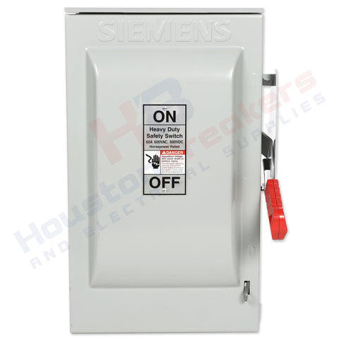 Siemens HNF362R 60A 600V Non-Fuse Disconnect