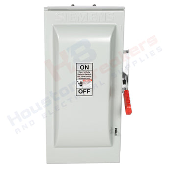 Siemens HNF363R 100A 600V Non-Fuse Disconnect