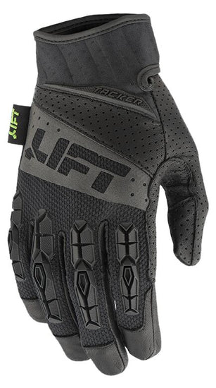 LIFT Pro Series Gloves - TACKER - Genuine Leather - Black