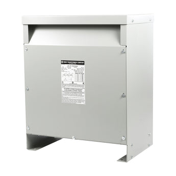 MGM 15 kVA 480 Volt Delta Primary - 240D/120 CT Volt Secondary, Three Phase, HT15A3K2-D16