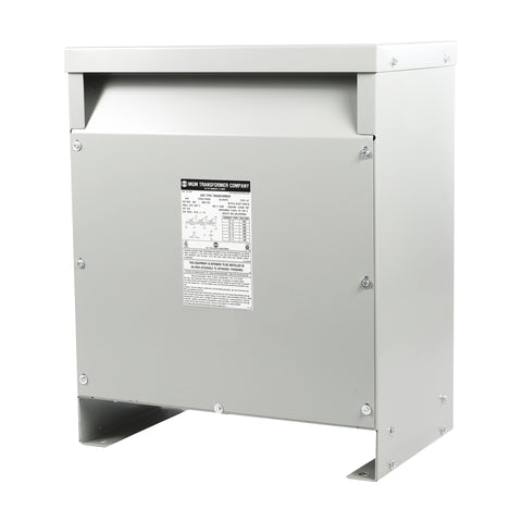 MGM 30 kVA 480 Volt Delta Primary - 240D/120 CT Volt Secondary, Three Phase, HT30A3K2-D16