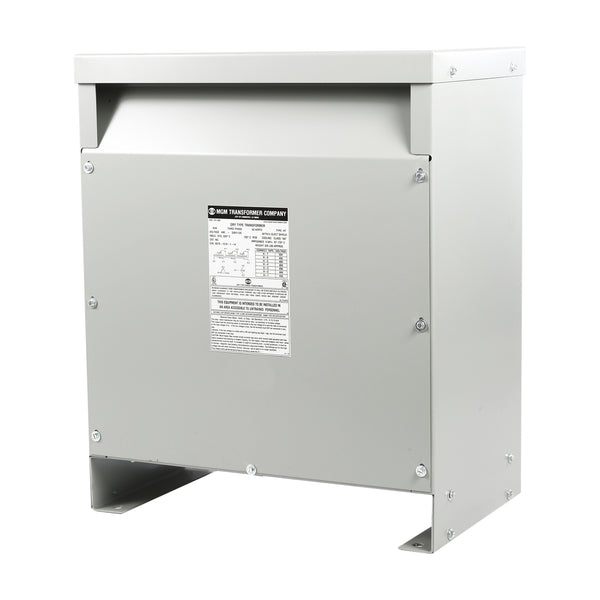 MGM 112.5 kVA 480 Volt Delta Primary - 240D/120 CT Volt Secondary, Three Phase, HT112A3K2-D16