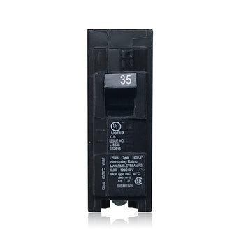 Q135 1 Pole 35 Amp Type QP Siemens Plug-in Circuit Breaker