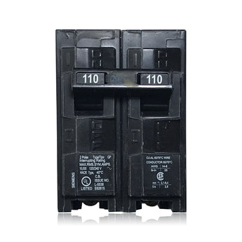 Q2110 2 Pole 110 Amp Type QP Siemens Plug-in Circuit Breaker