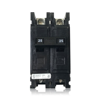 QC2025 2 Pole 25 Amp Type QC Quicklag Cutler-Hammer Circuit Breaker