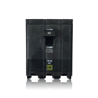 QO340 3 Pole 40 Amp Type QO Square D Plug-in Circuit Breaker