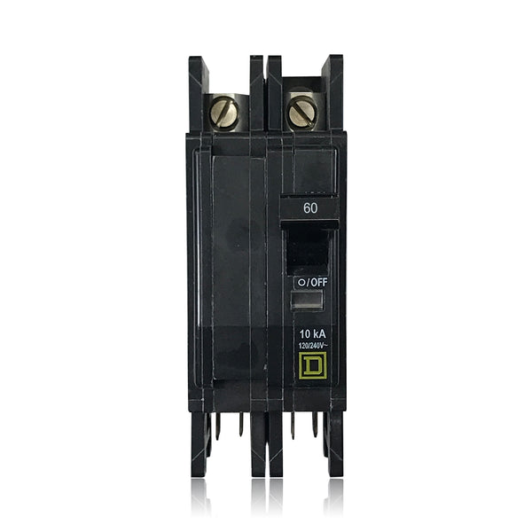 QOUQ260B 2 Pole 60 Amp Series QOU With Quick Connect Square D