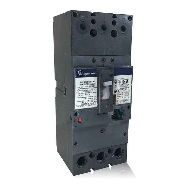 SFHA36AT0250 250 Amp Spectra RMS Current Limiting Circuit Breaker GE General Electric