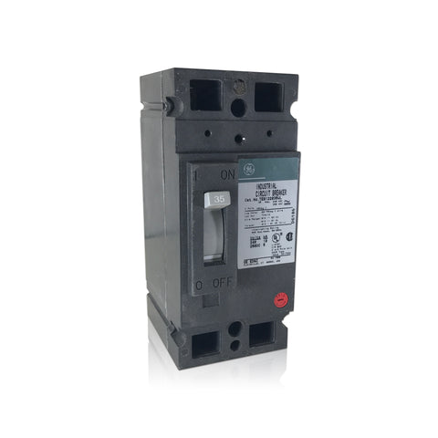 TEB122035 2 Pole 35 Amp Industrial Circuit Breaker GE General Electric