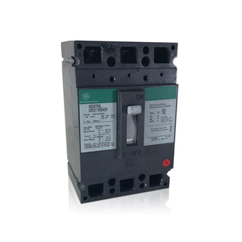 TED134100 3 Pole 100 Amp Industrial Circuit Breaker Type TED GE General Electric