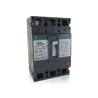 TED134125 3 Pole 125 Amp Industrial Circuit Breaker Type TED GE General Electric