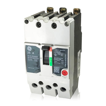TEYD3025B 25 Amp Three Pole Type TEYD GE General Electric Circuit Breaker