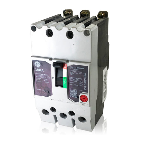 TEYD3100B 100 Amp Three Pole Type TEYD GE General Electric Circuit Breaker
