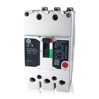 TEYL3015B 15 Amp Three 3 Pole Type TEYL GE General Circuit Breaker