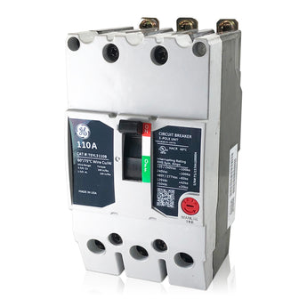 TEYL3110B 110 Amp Three 3 Pole Type TEYL GE General Circuit Breaker