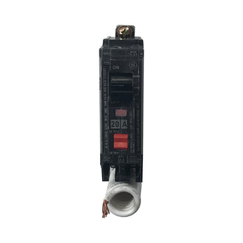 THQB1120GFT 1 Pole 20 Amp Ground Fault General Electric Circuit Breaker