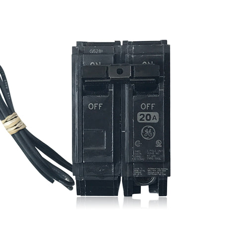 Terrific Circuit Breaker With Shunt Trip 20 Amp 120 240 Volt Ac 1Pole Plug Wiring Digital Resources Millslowmaporg