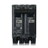 THQL2190 2 Pole 90 Amp Type THQL Plug-in GE General Electric Circuit Breaker