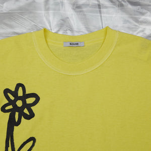 Dear John Tee Lemon with Flowers by artist John Booth for BLOUSE by Geoffrey J Finch. Image 4.