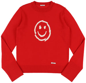 Nevermind Pullover Red