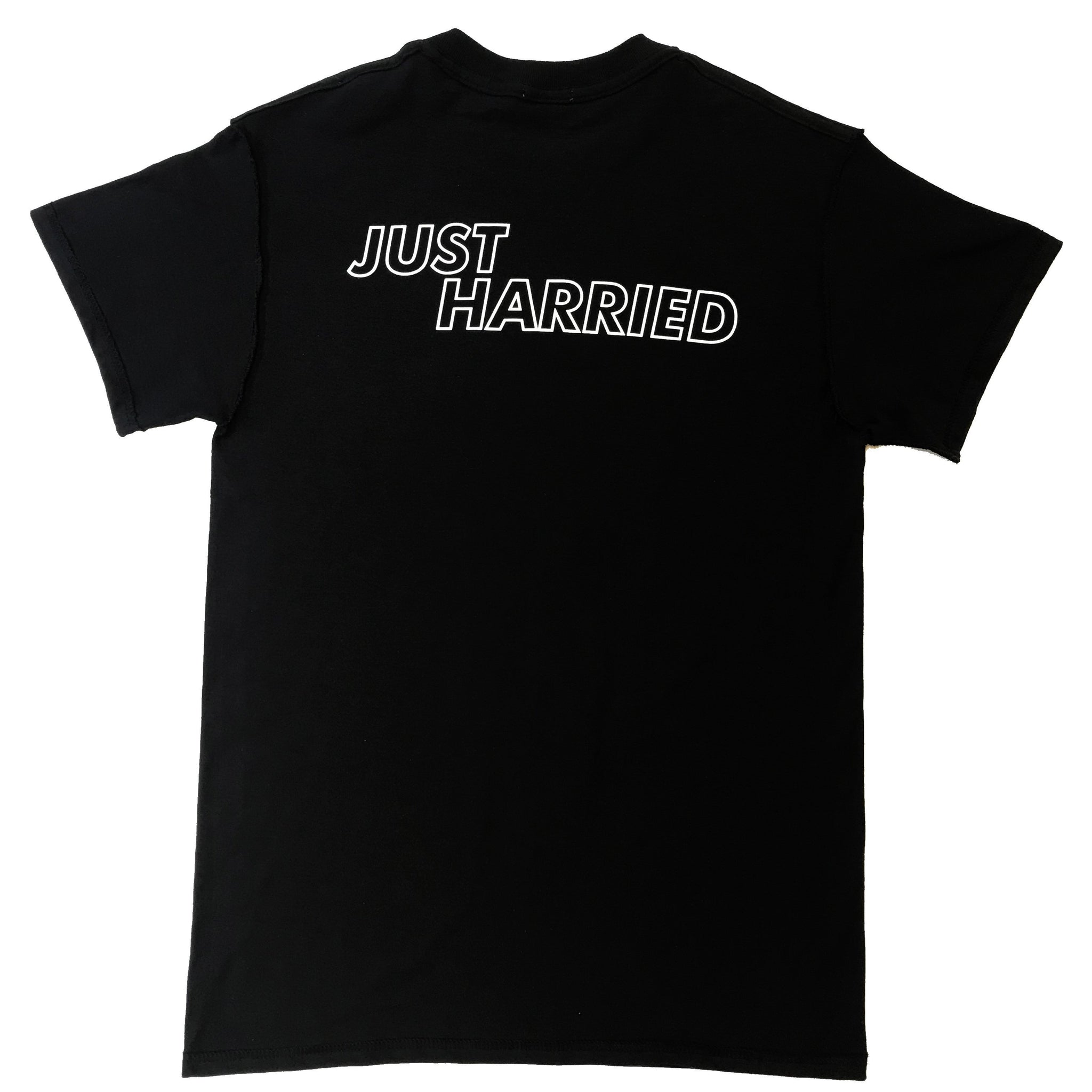 """Just Harried"" - tee, black"