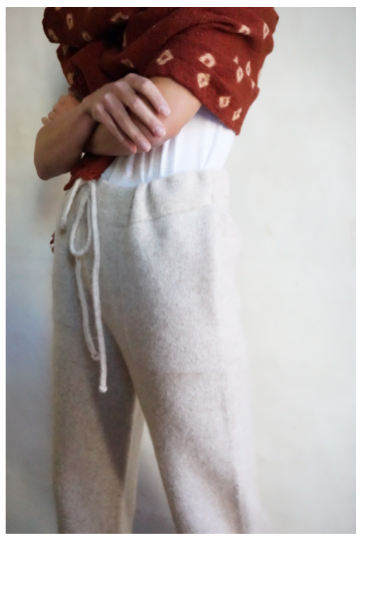 Lauren Manoogian Straight Pant in Cottontail