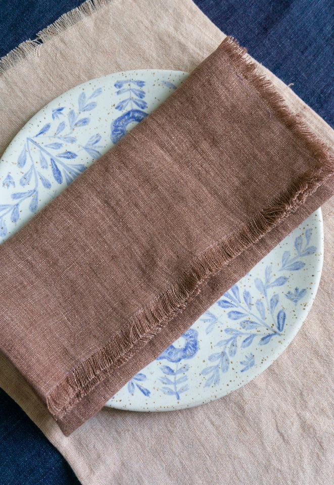 Creative Women Linen Placement Blush