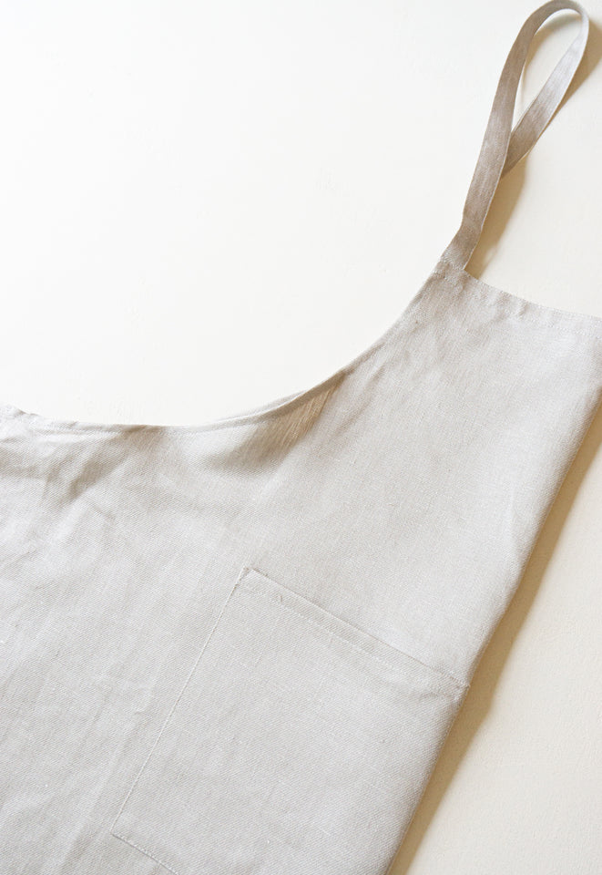 Fog Linen Atelier April Denim White