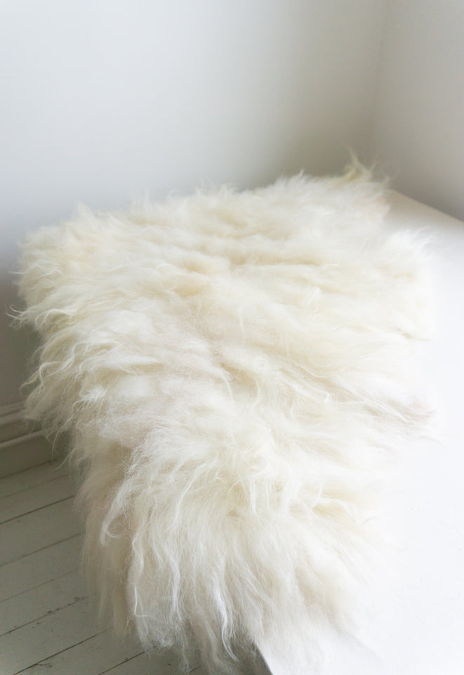 Hawkins NY Sheepskin Throw